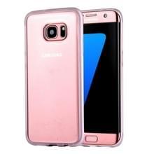 Samsung Galaxy S7 Edge / G935 uniek TPU + kunststof back cover Hoesje met magische Nano zuigtechnologie (transparant)