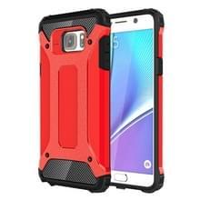 Voor Samsung Galaxy Note 5 / N920 hard Armor TPU + PC combinatie hoesje(rood)