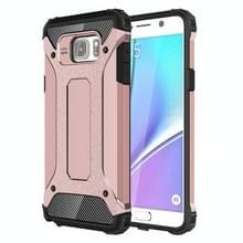 Voor Samsung Galaxy Note 5 / N920 hard Armor TPU + PC combinatie hoesje (Rose Goud)
