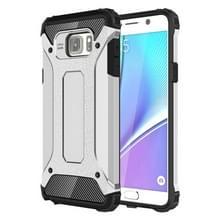 Voor Samsung Galaxy Note 5 / N920 hard Armor TPU + PC combinatie hoesje(zilver)