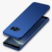 Samsung Galaxy S8 ultra-dun Frosted structuur MOFI Kunststof back cover Hoesje (blauw)