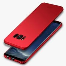 Samsung Galaxy S8 ultra-dun Frosted structuur MOFI Kunststof back cover Hoesje (rood)