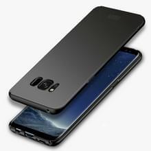 MOFI voor Galaxy S8 PLUS / G955 Frosted ultra dunne rand PC volledig ingepakt beschermende geval back cover(Black)
