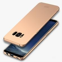 MOFI voor Galaxy S8 PLUS / G955 Frosted ultra dunne rand PC volledig ingepakt beschermende geval back cover(Gold)
