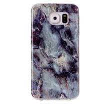 Samsung Galaxy S6 / G920 Bruin marmer patroon TPU back cover Hoesje
