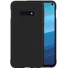 NILLKIN antislip textuur PC Case voor Galaxy S10 E (zwart)