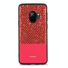 JOYROOM voor Galaxy S9 Glittery poeder schokbestendige terug beschermhoes (rood)