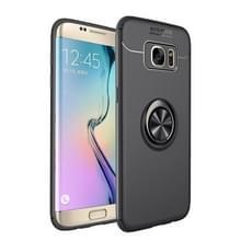 Schokbestendige TPU Case voor Galaxy J6 (2018)  met Holder(Black)