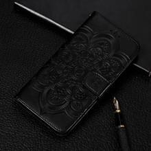 Mandala Embossing patroon horizontale Flip lederen case voor Galaxy S10e  met houder & card slots & portemonnee & fotolijst (zwart)