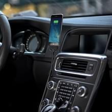 Multi functieele metaal Soft Slang Palm houder Micro USB naar USB Data laad Kabel met Flexible Desk / auto dok function  Voor Samsung  HTC  Sony  Lenovo  Huawei  nl andere Smartphones(zwart)