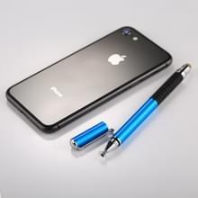 Universele 2 in 1 multifunctionele ronde dun Tip Capacitieve Touch scherm Stylus Pen voor iPhone  iPad  Samsung  en andere Capacitieve Touch scherm Smartphones of Tablet PC(Blue)