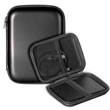 2 5-inch hardeschijf opslag zak oortelefoon tas multifunctionele tas  Bag grootte: 2.5 inch (zwart)