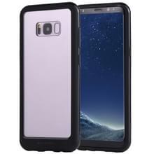 GOOSPERY nieuwe Bumper X voor Galaxy S8 PLUS / G955 PC + TPU schokbestendige harde beschermende back cover(Black)