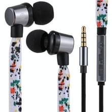 U-25 1 2 m In-Ear Bass Stereo Wired de Leeuw Fashion koptelefoon met microfoon  voor iPhone  iPad  Galaxy  Huawei  Xiaomi  LG  HTC en andere Smartphones