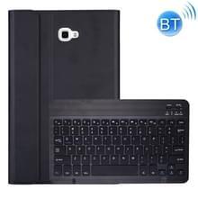 DY580 voor Galaxy tab A 10 1 T580/T585 afneembare kunststof Bluetooth toetsenbord lederen draagtas met houder (zwart)