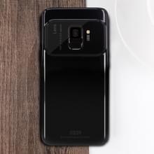 MOFI volledige PC + Lens + Back Camera glas beschermende Back-Case voor Galaxy S9(Black)