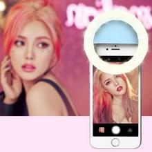 RK14 anker schoonheid artefact 3 niveaus van helderheid Selfie Flash licht met 33 LED-verlichting  voor iPhone  Galaxy  Huawei  Xiaomi  LG  HTC en andere slimme Phones(Blue)