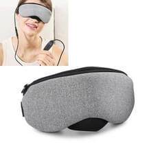 USB-oplaadverwarming Steam Sleep Eye Mask (Grijs)