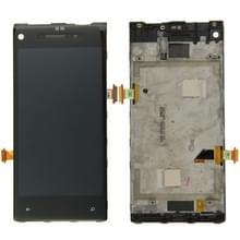 LCD-scherm en Digitizer met Frame voor HTC 8X(Black)