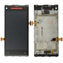 LCD-scherm en Digitizer met Frame voor HTC 8X(Red)