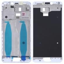 Voorzijde huisvesting LCD Frame Bezel plaat voor Asus Zenfone 4 Max ZC554KL X00IS X00ID(White)