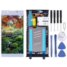 LCD-scherm en digitizer volledige montage met frame voor Sony Xperia L1 G3311 G3312 G3313 (zilver)