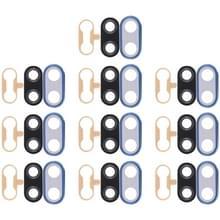 10 STKS terug camera bezel met lens cover & lijm voor Huawei Nova 3i (blauw)