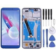 LCD-scherm en digitizer volledige montage met frame voor Huawei Honor 9 Lite (blauw)