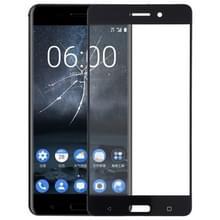 De Lens van het buitenste glas van de voorste scherm voor Nokia 6(Black)
