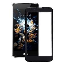 Voorste scherm buitenste glaslens voor LG K8 (zwart)