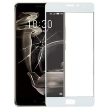 Voorste scherm buitenste glaslens voor Meizu PRO 7 Plus(White)