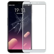 Voorste scherm buitenste glaslens voor Meizu M6s / Meilan S6(White)