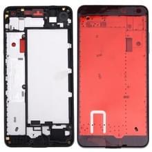 Voorzijde huisvesting LCD Frame Bezel plaat voor Microsoft Lumia 650 (zwart)