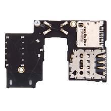 SIM-kaart-aansluiting + SD kaart aansluiting voor Motorola Moto G (3rd Gen.) (Single SIM versie)