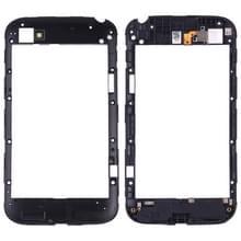 Back plaat behuizing camera lens paneel voor BlackBerry Q20 (zwart)