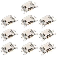 10 stuks opladen poort connector voor Motorola Moto G2/Moto G (2nd gen) XT1063 XT1064 XT1068 XT1069