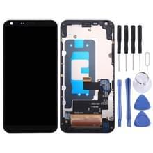 LCD-scherm en Digitizer volledige montage met Frame voor LG Q6 V6 PLUS LG-M700 M700 M700A US700 M700H M703 M700Y(Black)