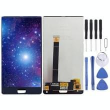 LCD-scherm en digitizer volledige montage voor Elalarmtoestel S8 (blauw)