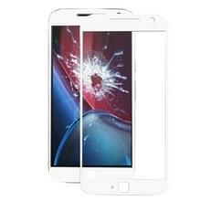 Voorste scherm buitenste glaslens voor Motorola Moto G4 Plus / XT1640 / XT1642 / XT1644 (wit)