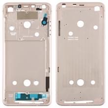 Front behuizing LCD frame bezel plaat voor LG G6/H870/H970DS/H872/LS993/VS998/US997 (goud)