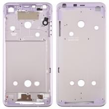 Front behuizing LCD frame bezel plaat voor LG G6/H870/H970DS/H872/LS993/VS998/US997 (paars)
