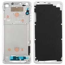 Front behuizing LCD frame bezel plaat voor LG G6/H870/H970DS/H872/LS993/VS998/US997 (zilver)