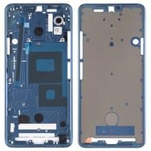 Front behuizing LCD-frame bezel plaat voor LG G7 ThinQ/G710 (blauw)
