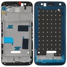 Front behuizing LCD-omlijsting plaat voor Huawei G7 plus (zwart)