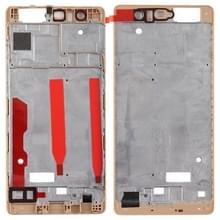 Front behuizing LCD frame bezel plaat voor Huawei P9 (goud)