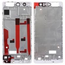 Front behuizing LCD-frame bezel plaat voor Huawei P9 (wit)