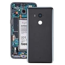 Batterij achtercover met camera lens voor HTC U11 + (zwart)