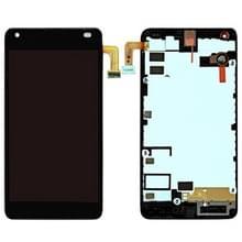 LCD-scherm en Digitizer met Frame voor Microsoft Lumia 550 (zwart)