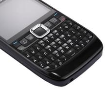 Full housing Cover (Front Cover + middelste Frame Bezel batterij Back Cover + toetsenbord) voor Nokia E63(Black)