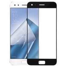 Voorkant scherm buitenste glazen lens voor ASUS ZenFone 4 Pro ZS551KL/Z01GD (zwart)